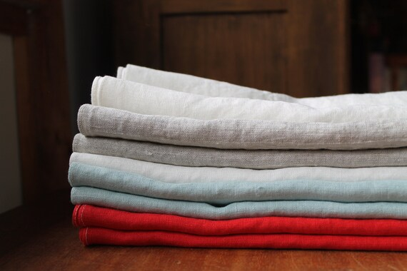American Made Linen Towel Standard Kitchen Towel Size Etsy