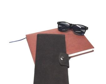 Traveler 4 Passport Wallet - Family Passport wallet -Chocolate Brown - Suede - Handmade - Custom cover