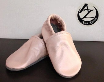 Girls - Leather Slippers