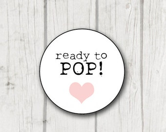 Digital Ready to Pop stickers - instant download - ready to print stickers