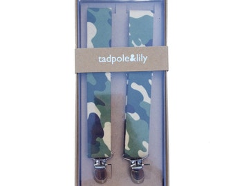 Camoflauge Suspenders