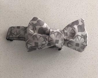 Gray Deer Bow Tie
