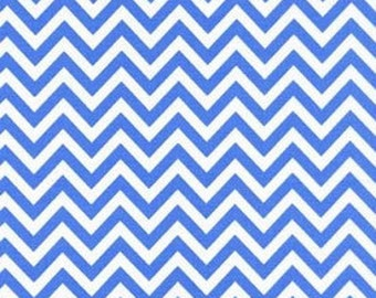 Robert Kaufman Chevron Blue by Ann Kelle from Remix