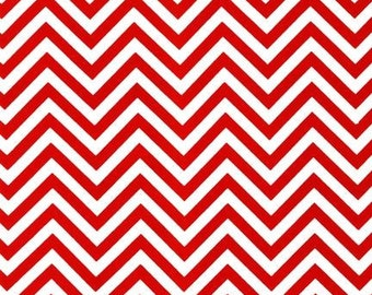 Robert Kaufman Chevron AAK-10394-3 RED by Ann Kelle from Remix