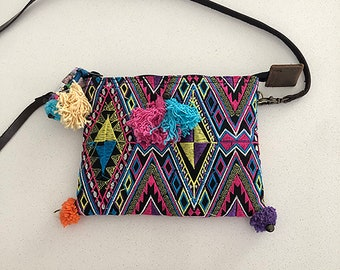Girls Handmade Purse by HMONG women in the hill tribes of Thailand