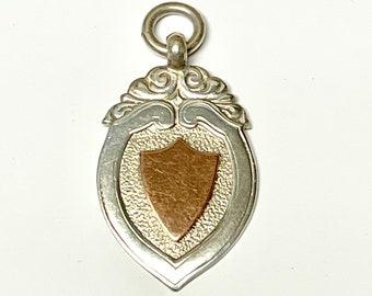 Vintage Sterling Silver English Pendant, English Sterling Pendant, English Charm, Hallmarked Pendant, English Hallmark, English Medal