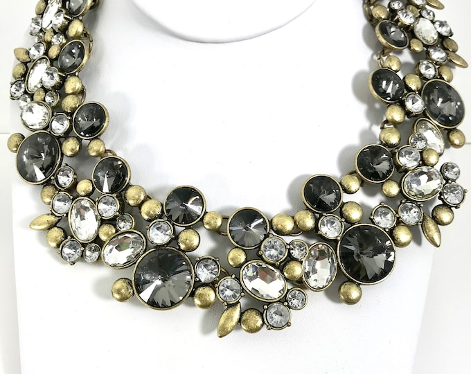 Large Costume Statement Necklace, Statement Choker, Bib Necklace