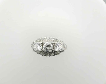 Platinum Diamond Wedding Ring; Platinum Engagement Ring; Platinum Ring; Diamond Platinum Ring; Platinum Ring