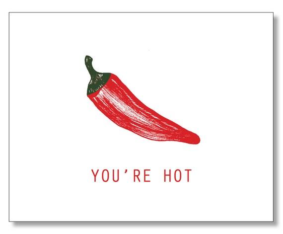 du bist heiß