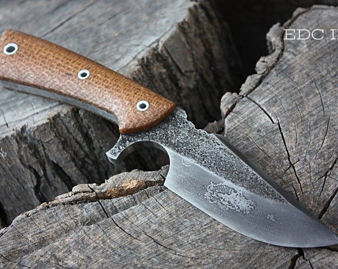 "Handcrafted FOF ""EDC II"", survival, hunting or tactical knife"