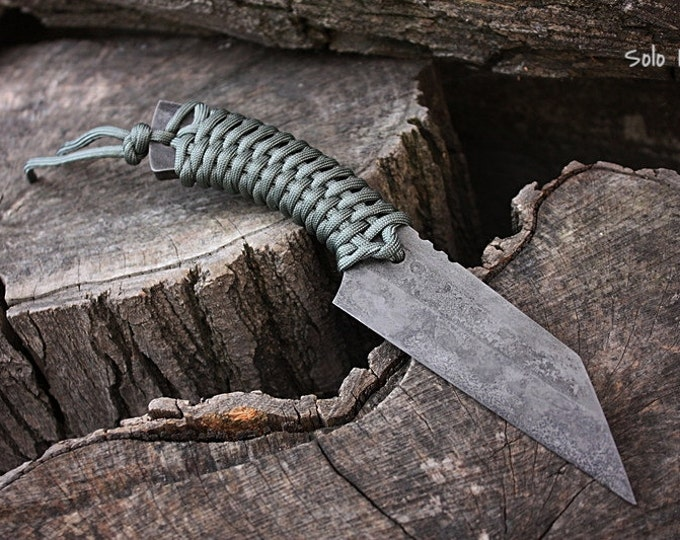 "Handmade FOF ""Solo II"" working, hunting and survival knife"