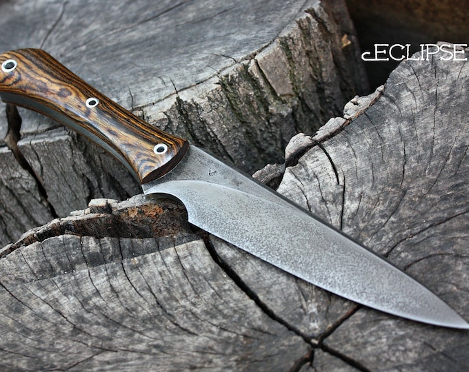 """Handcrafted FOF """"Eclipse"""", survival knife"""