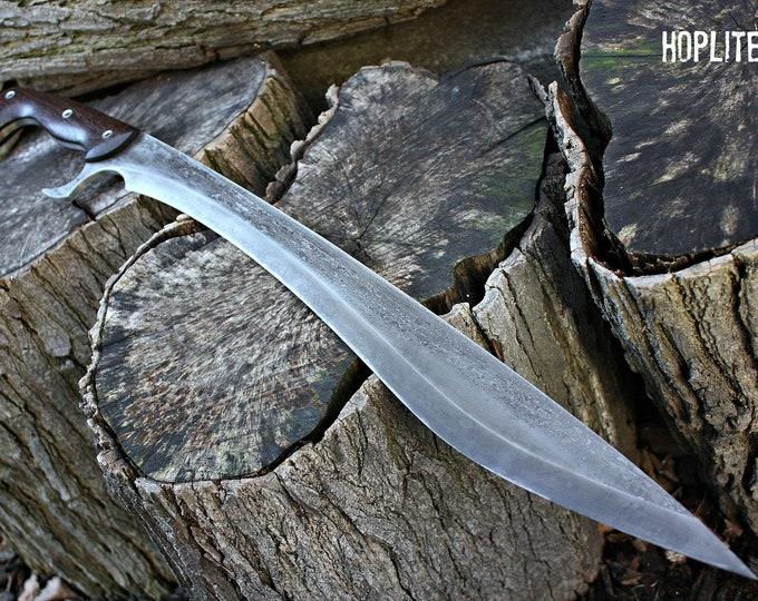 "Handcrafted FOF ""Hoplite"" full tang kopis based sword"