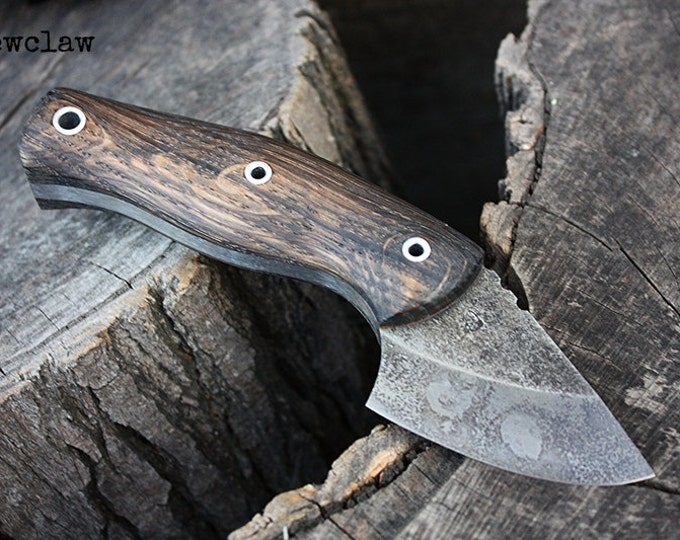 "Handcrafted FOF ""Dewclaw"" Hunting and Survival Knife"