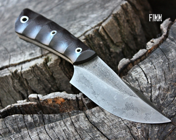 "Handcrafted FOF ""Finn"", survival, and hunting blade"