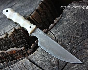 "Handmade FOF ""Cricket mod"" work, hunting, edc and survival knife"