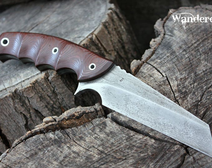 "Handmade knife FOF ""Wanderer"" work and survival blade"