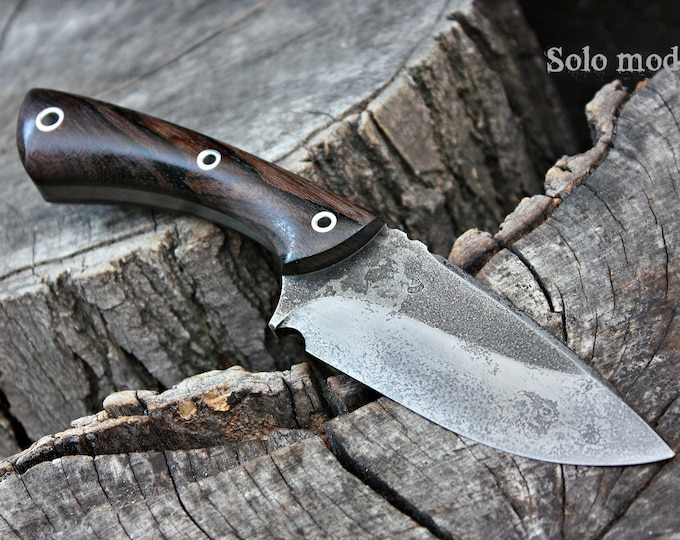 "Handmade FOF ""Solo mod"" working, hunting and survival knife"
