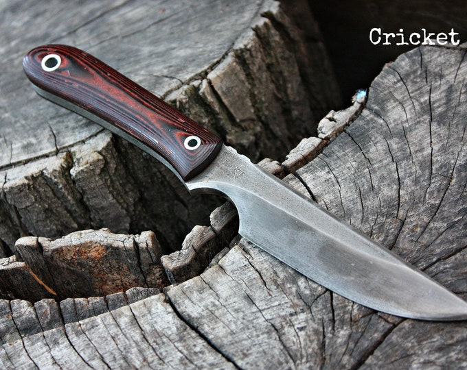 "Handmade FOF ""Cricket"" work, hunting, edc and survival knife"