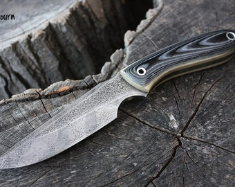 "Handmade FOF ""Sojourn"" working, hunting, edc and survival knife"