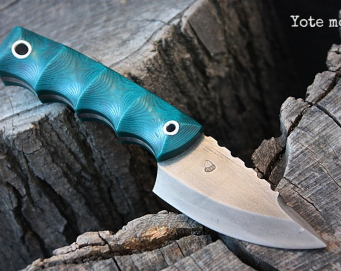 "Handmade FOF ""Yote mod""  Work, Survival and EDC knife"