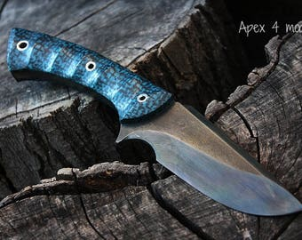 "Handcrafted FOF ""Apex 4"", survival, hunting or tactical knife"