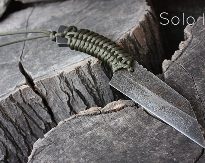 """Handmade FOF """"Solo II"""" working, hunting and survival knife"""