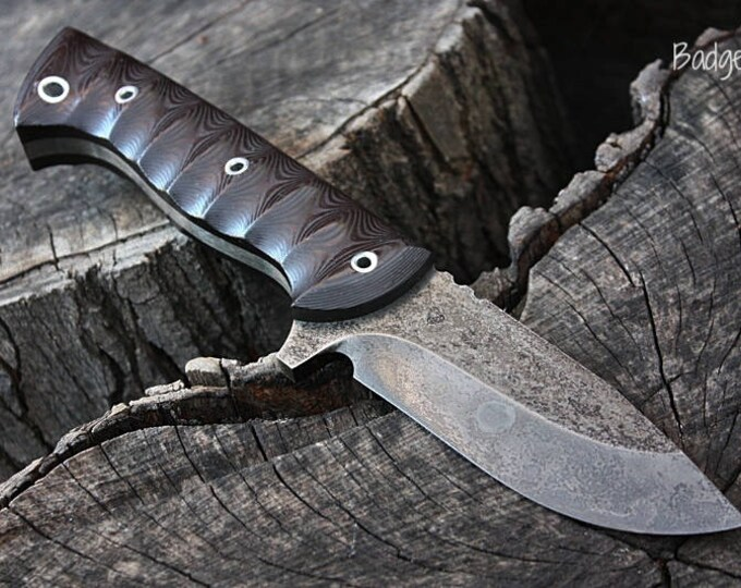 "Handcrafted FOF ""Badger"", survival, hunting or working blade"