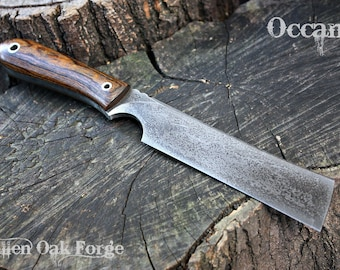 """Handcrafted FOF """"Occam"""", survival, and hunting blade"""