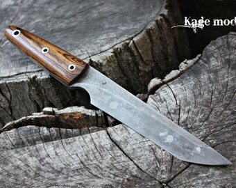 """Handcrafted FOF """"Kage mod"""" full tang tanto"""