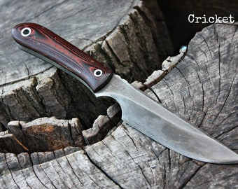 """Handmade FOF """"Cricket"""" work, hunting, edc and survival knife"""