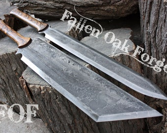 Not for a blade custom sheath listing only for Fallen Oak Forge machetes, swords, axes, kukris, tactical, hunting and survival knives
