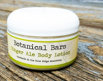 Ginger Ale Body Lotion - Paraben Free Lotion