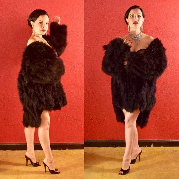 Glamorous Vintage Marabou Feather Jacket
