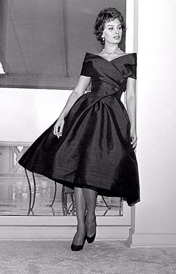 1950s Suzy Perette Designer Fit and Flare Dress - image 7