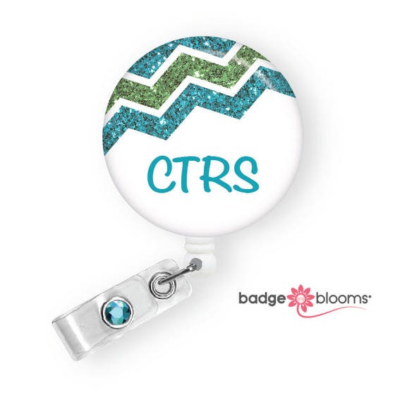 Retractable Badge Reel Name ID Pull Clip Holder PT Physical Therapy Therapist