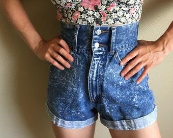 79aa0daa6d Vintage Denim High Waisted Shorts