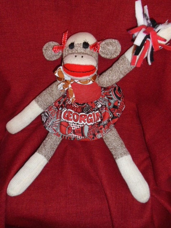 Ohio State Argyle Sock Monkey