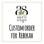 RESERVED - Custom Order for Rebekah - Custom Architecture Portrait  - Original Watercolor