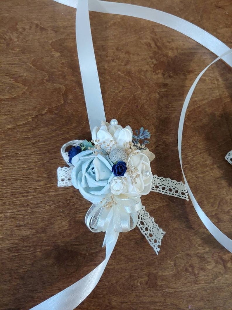 navy blue wedding reception decorations.htm wedding sola wood corsage ready to ship corsage navy blue etsy  wedding sola wood corsage ready to ship