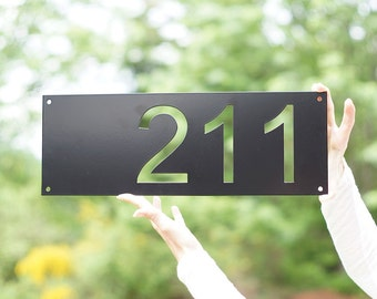 Modern House Numbers / Mid Century Modern House Numbers