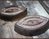 Vintage Cast Iron Sad Irons