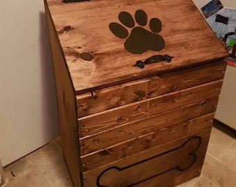 Dog Food Storage Etsy