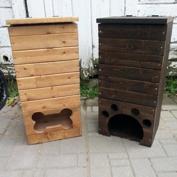Charmant Wood Dog Toy Box / Wooden Dog Toys Storage Bin / Pet Toy | Etsy