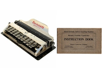 SCM Smith Corona Corsair Typewriter Instruction Manual