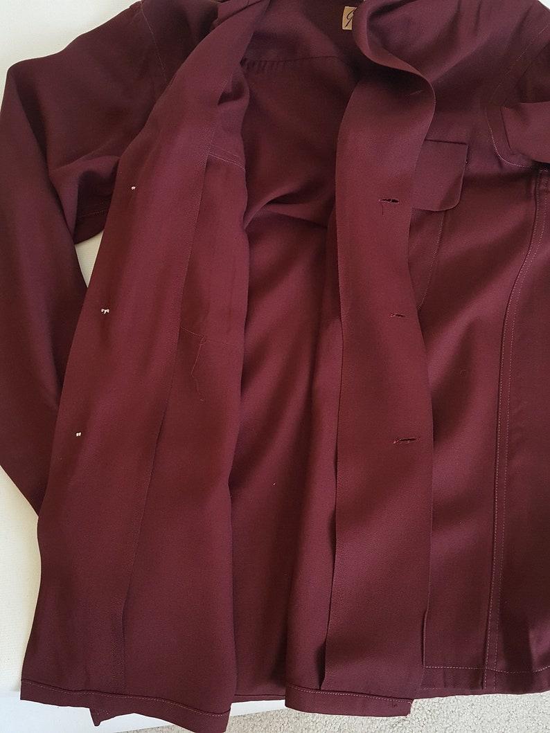 50s GABARDINE CASUALS Men/'s Rayon Shirt