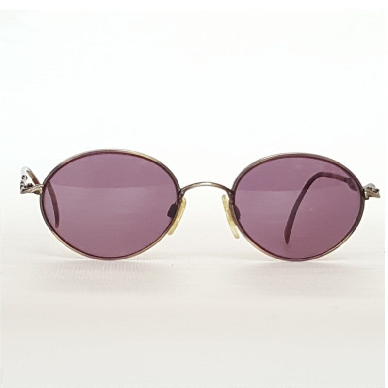 TURA Runde Metall Brillengestelle Jahrgang Bronze &