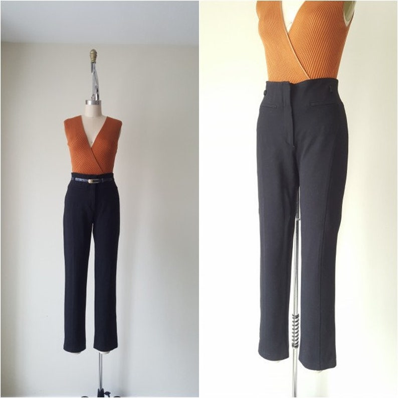 a52c29434c Knit Trousers by Luisa Spagnoli | Etsy
