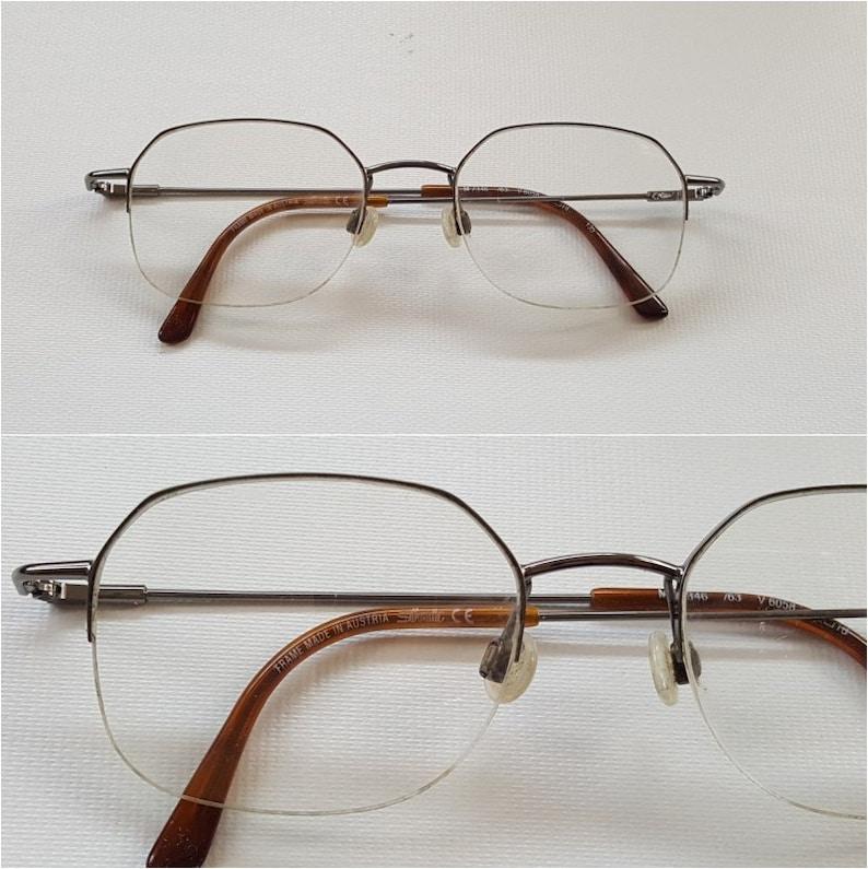 aab99a36126 SILHOUETTE Titanium Metal Eyeglass Frames Vintage