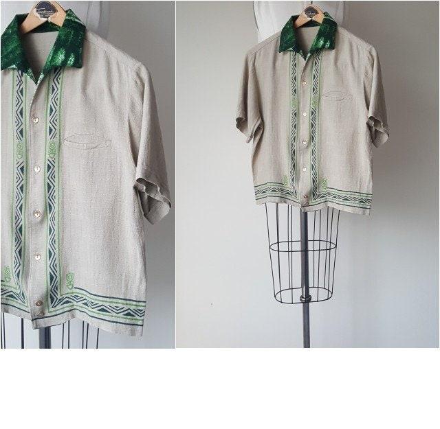 1960s – 70s Men's Ties | Skinny Ties, Slim Ties 50S Raw Silk Hawaiian Shirt Vintage 1950s 1960s Beach Party Size Mens M $114.90 AT vintagedancer.com